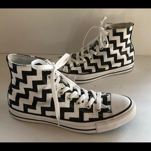 Converse All Star Zig Zag High Top Sneakers 10